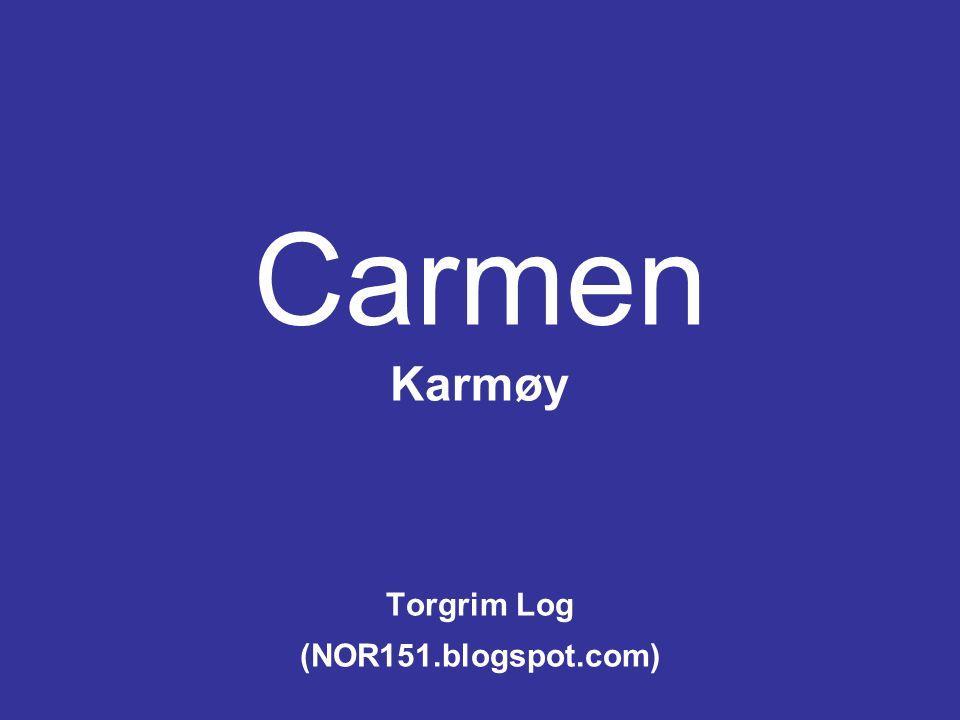 Carmen Karmøy Torgrim Log (NOR151.blogspot.com)