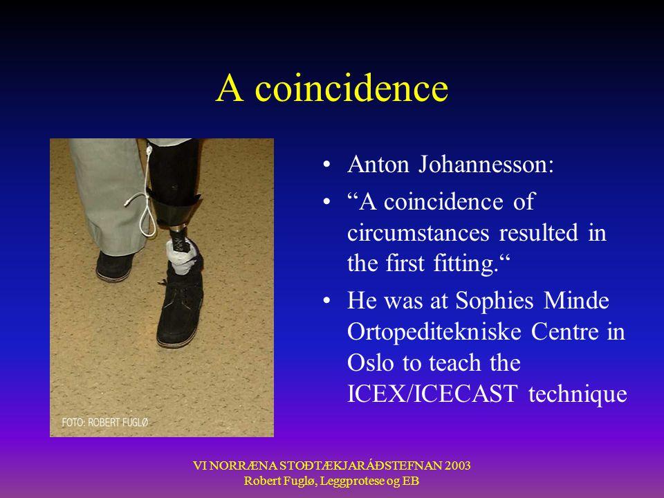 A coincidence Anton Johannesson: