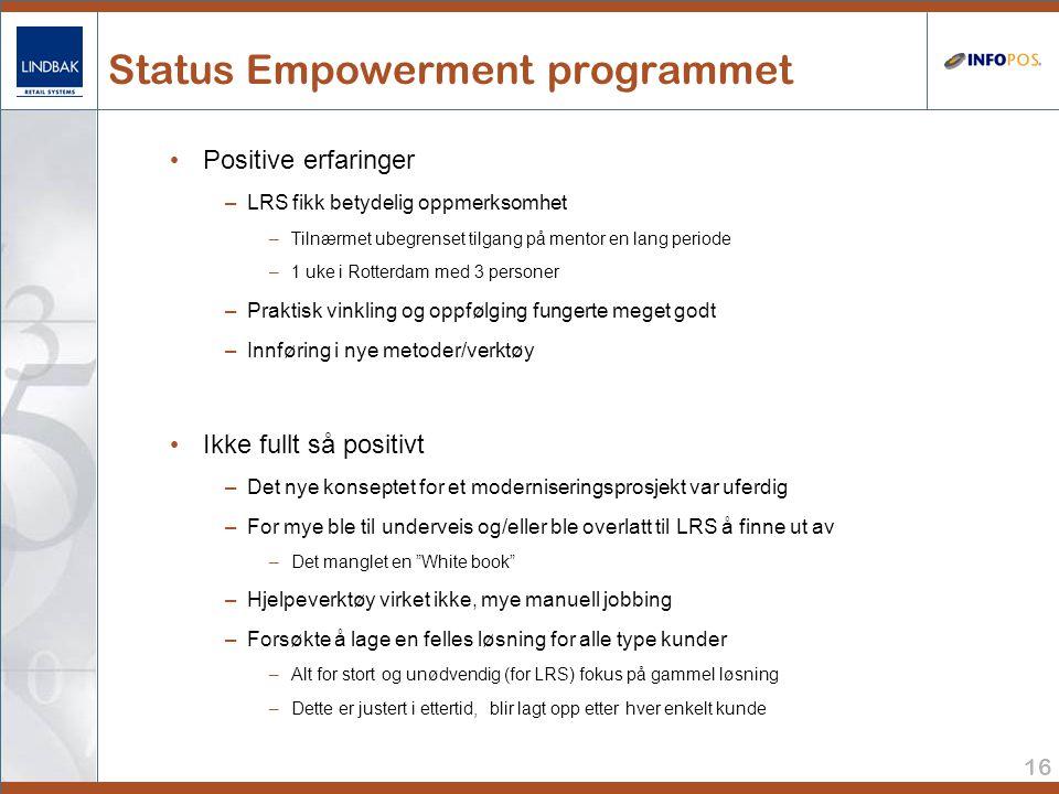 Status Empowerment programmet