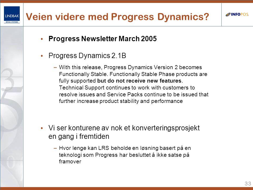 Veien videre med Progress Dynamics