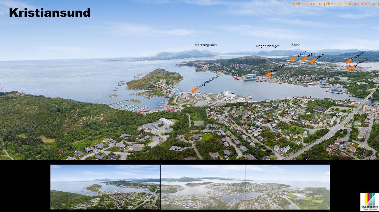 Kristiansund Trykk på en av pilene for å få informasjon Inderbergsalen