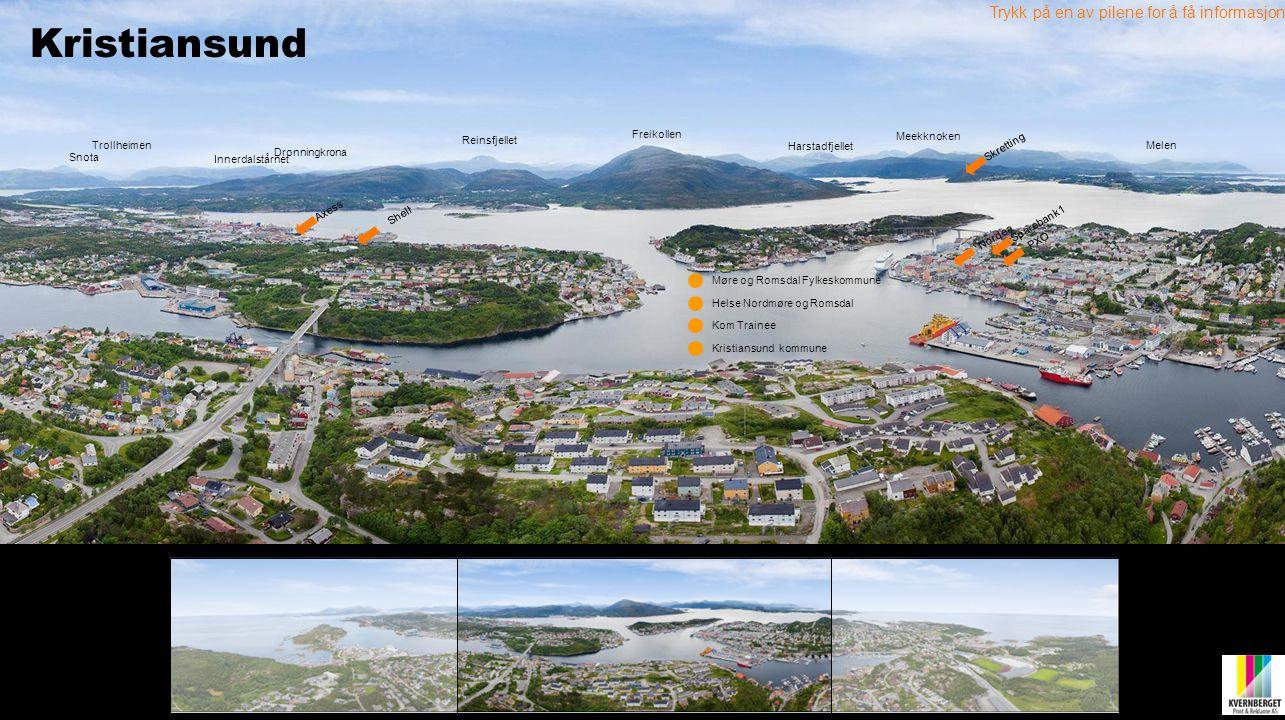 Kristiansund Trykk på en av pilene for å få informasjon Freikollen