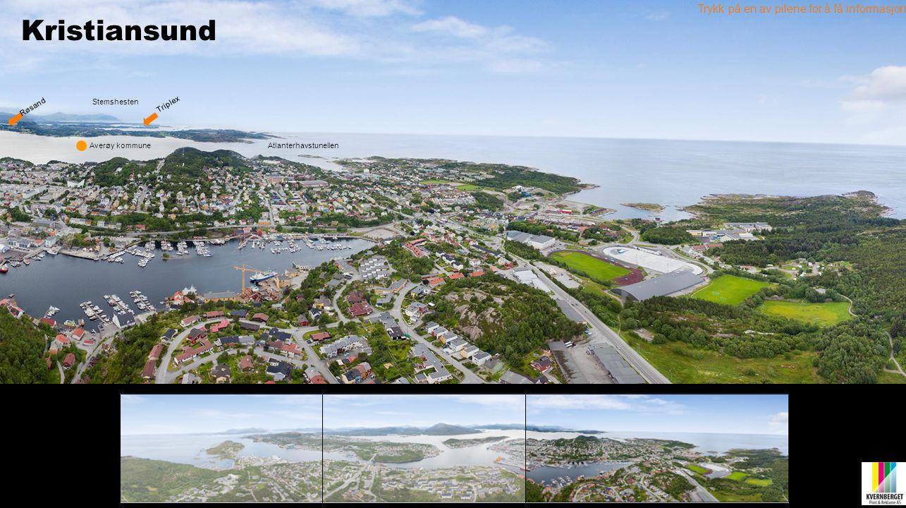 Kristiansund Trykk på en av pilene for å få informasjon Stemshesten