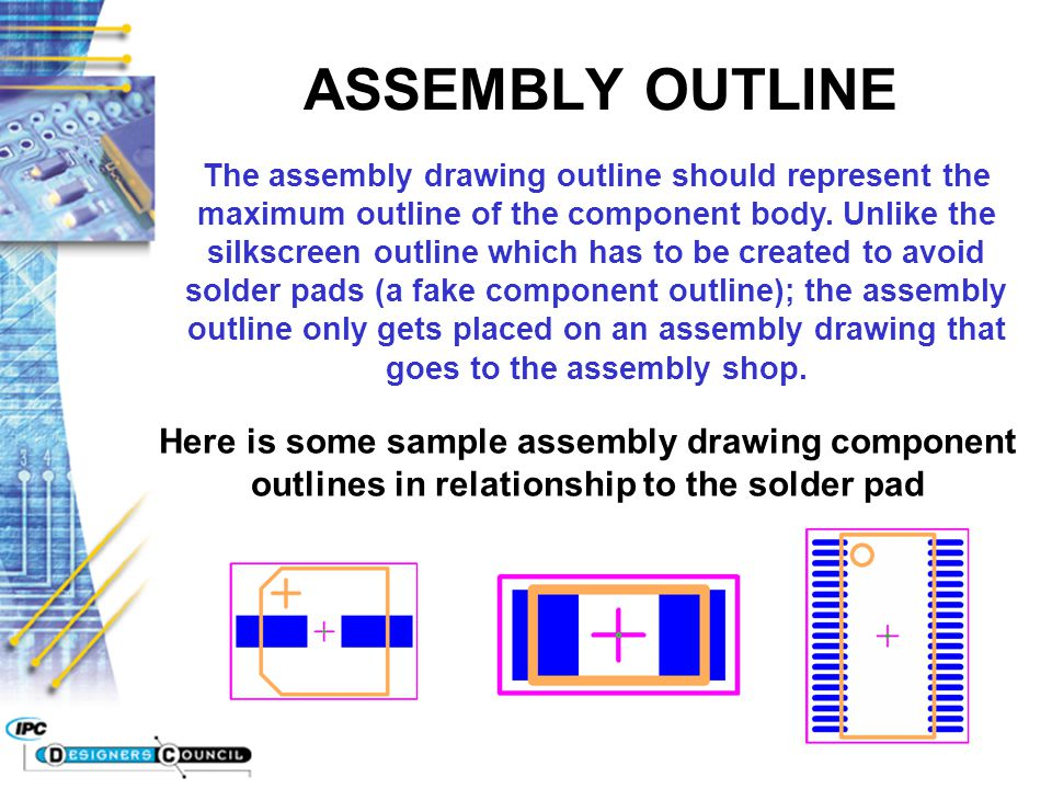 ASSEMBLY OUTLINE