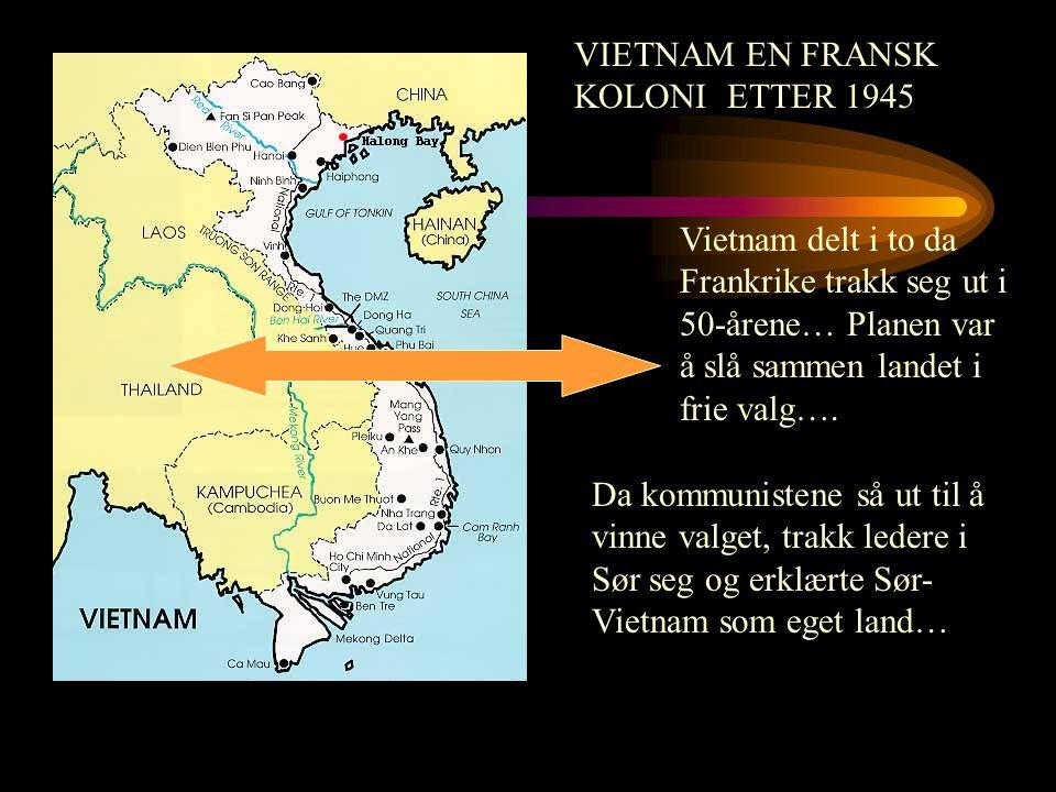 VIETNAM EN FRANSK KOLONI ETTER 1945