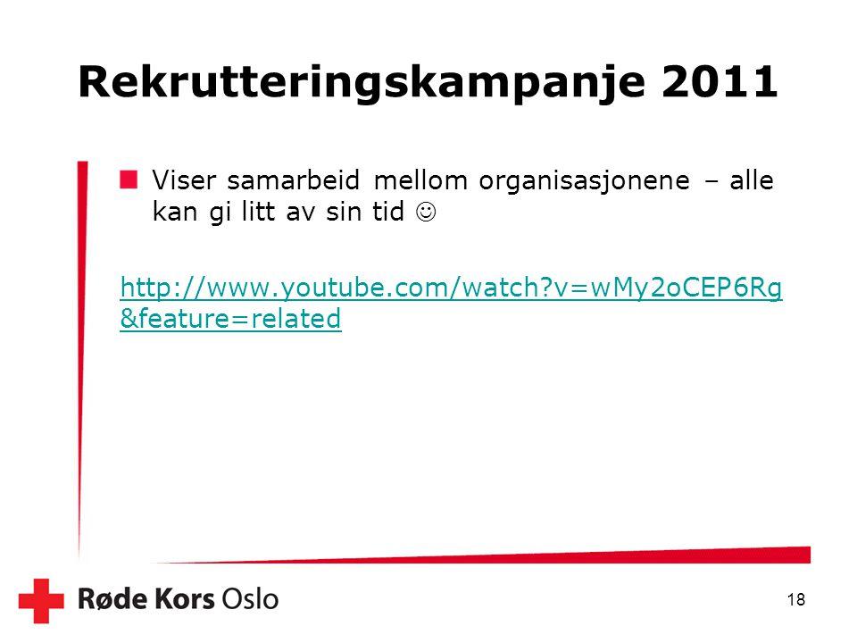 Rekrutteringskampanje 2011