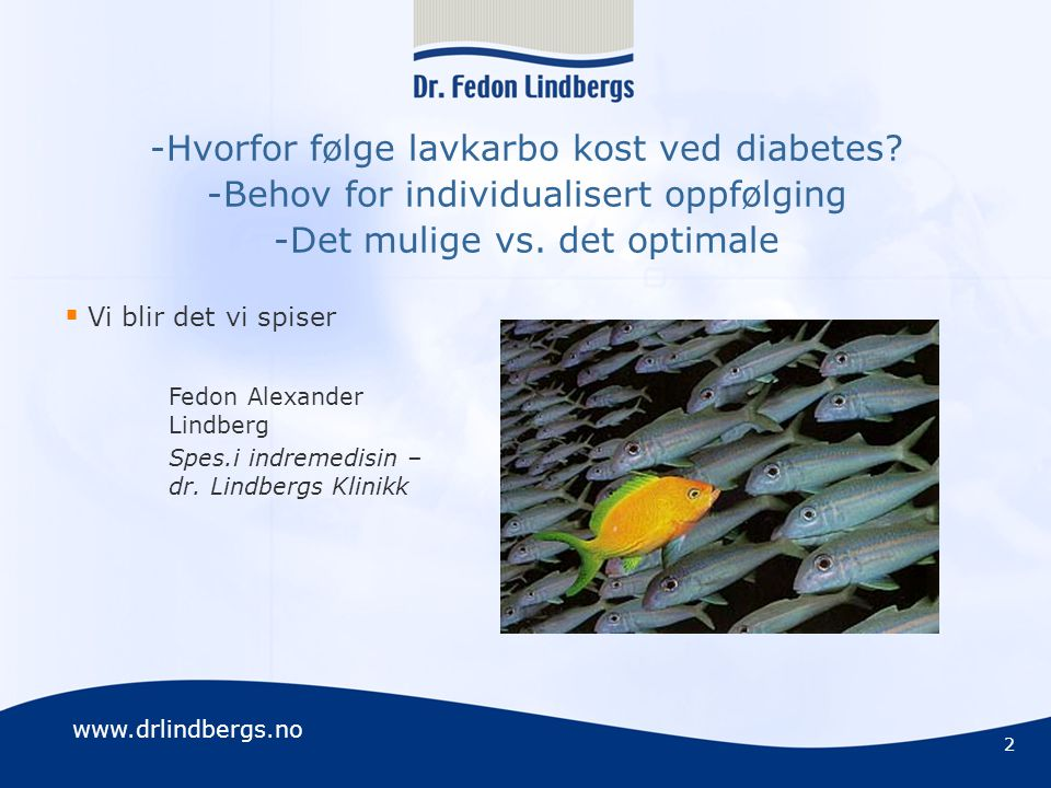 -Hvorfor følge lavkarbo kost ved diabetes
