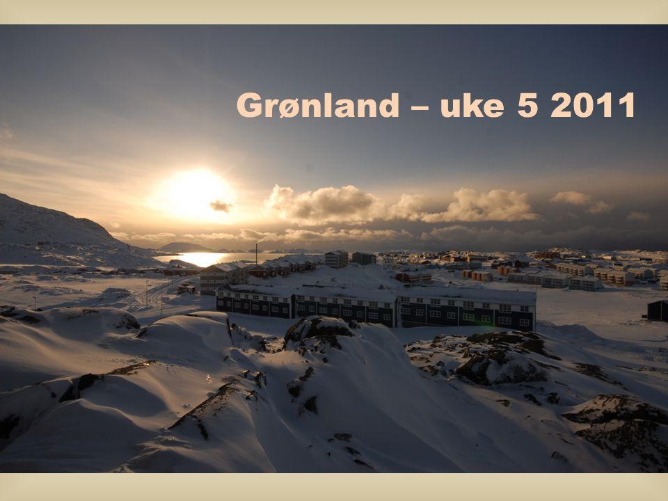 Grønland – uke 5 2011
