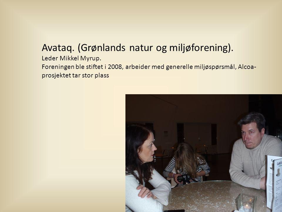 Avataq. (Grønlands natur og miljøforening).