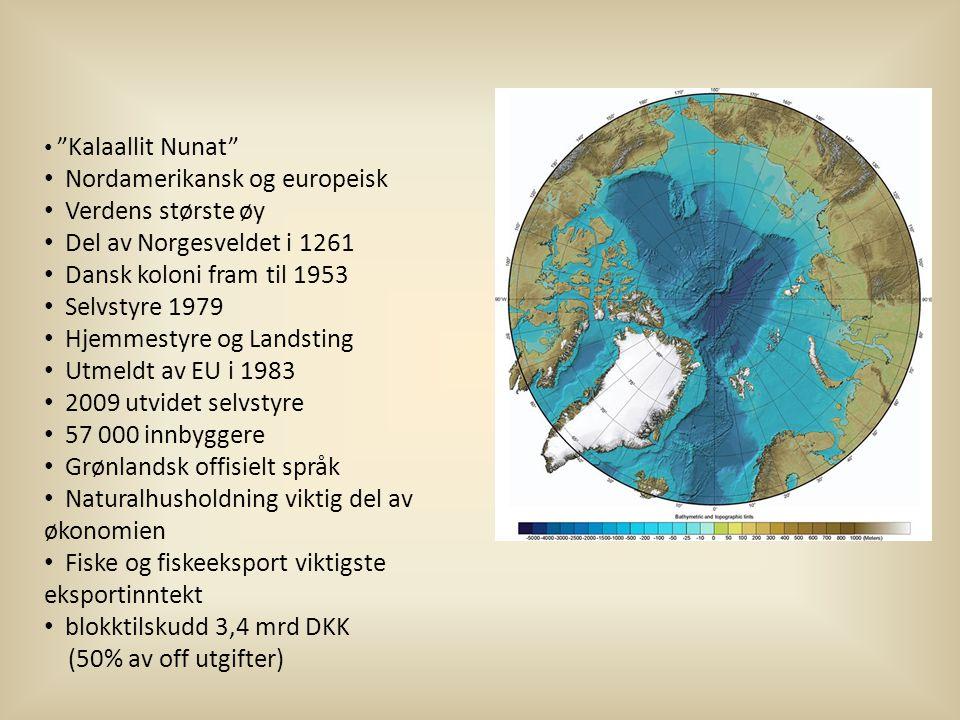 Nordamerikansk og europeisk Verdens største øy