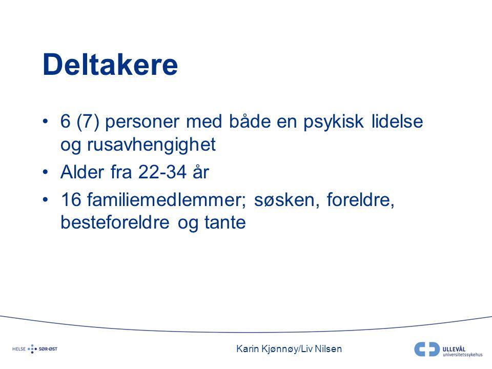 Karin Kjønnøy/Liv Nilsen
