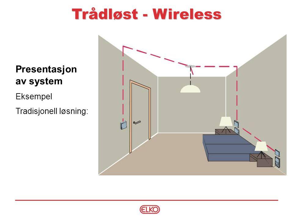 Trådløst - Wireless Presentasjon av system Eksempel