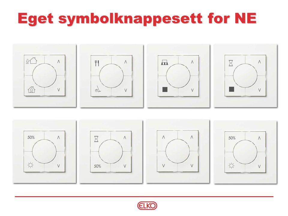 Eget symbolknappesett for NE