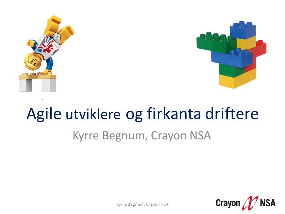 Agile utviklere og firkanta driftere