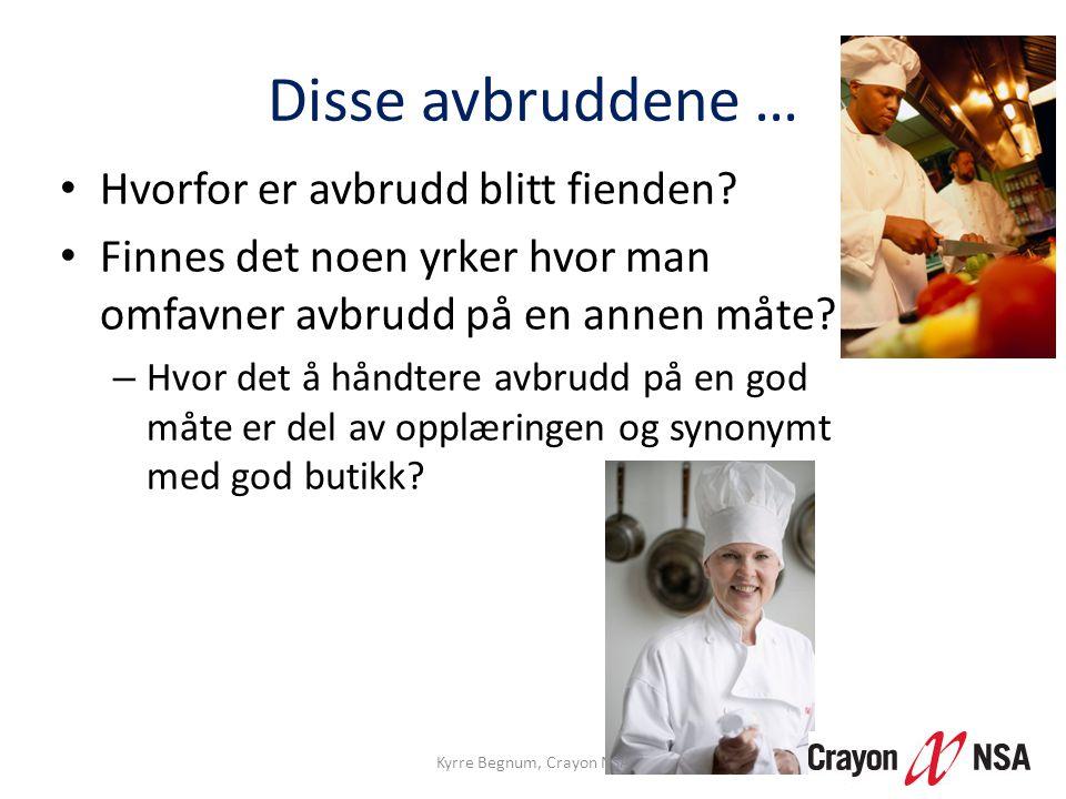 Kyrre Begnum, Crayon NSA