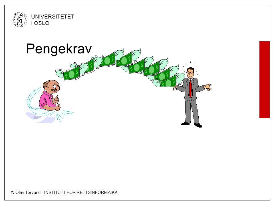 Pengekrav Krav Kreditor Debitor
