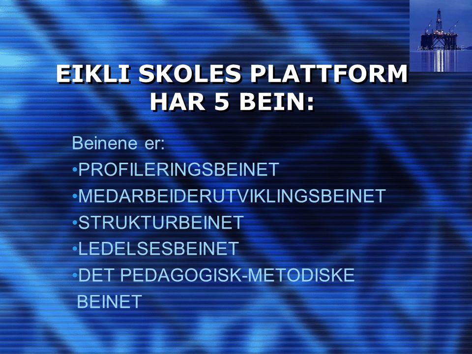 EIKLI SKOLES PLATTFORM HAR 5 BEIN: