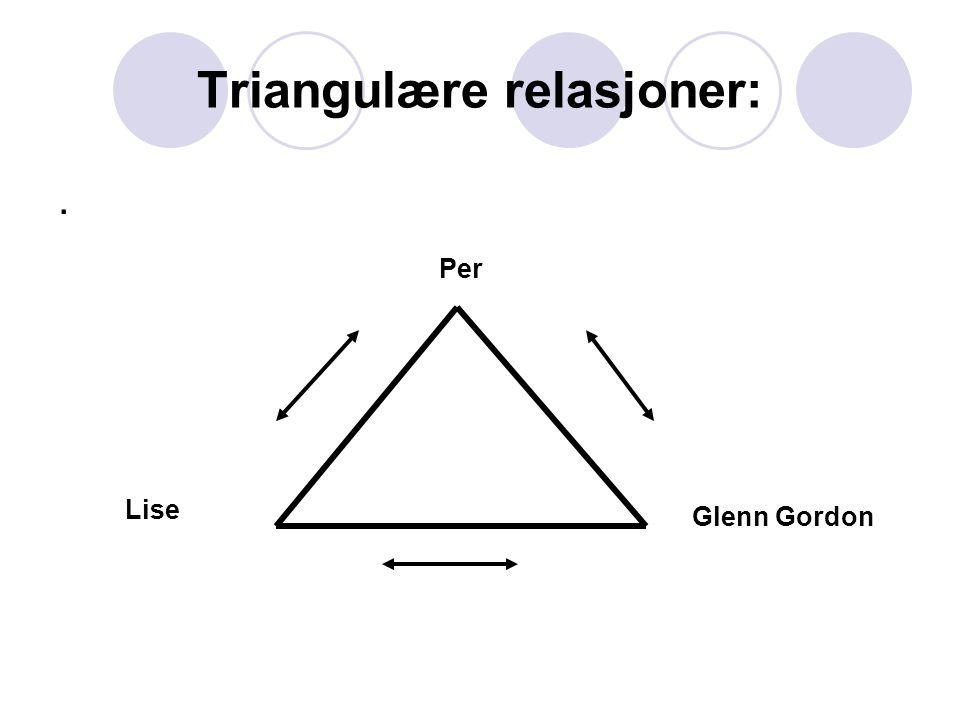 Triangulære relasjoner:
