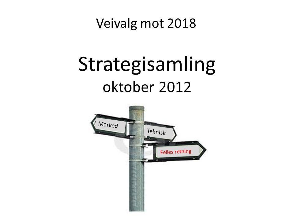 Strategisamling oktober 2012