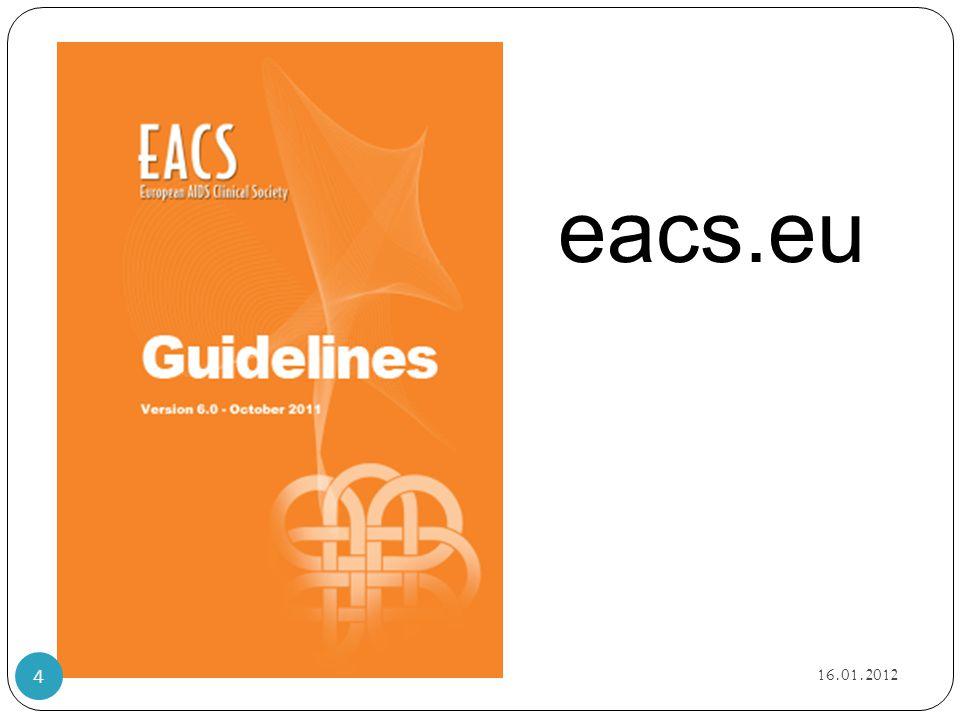 eacs.eu HVORDAN Retningslinjer - nå også oppdaterte norske- internett. Implementering. 16.01.2012