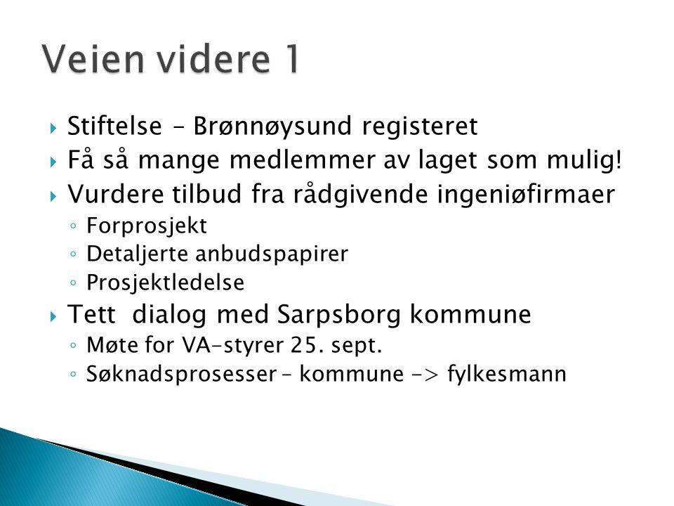 Veien videre 1 Stiftelse – Brønnøysund registeret