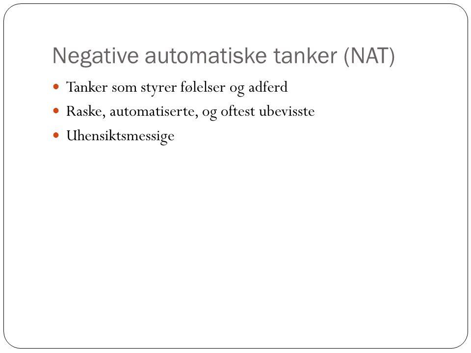 Negative automatiske tanker (NAT)