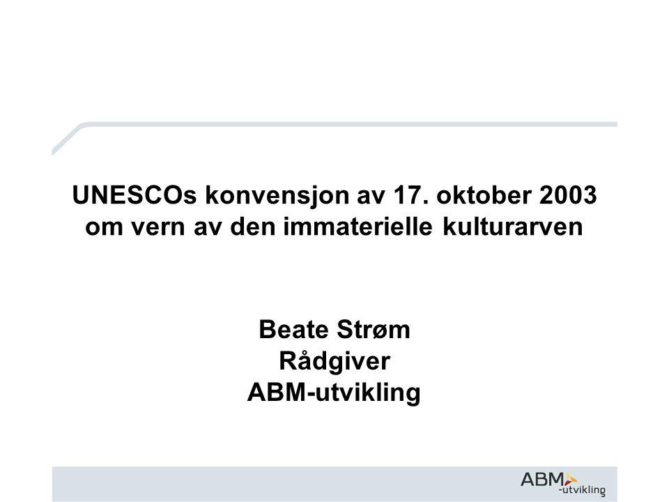 Beate Strøm Rådgiver ABM-utvikling