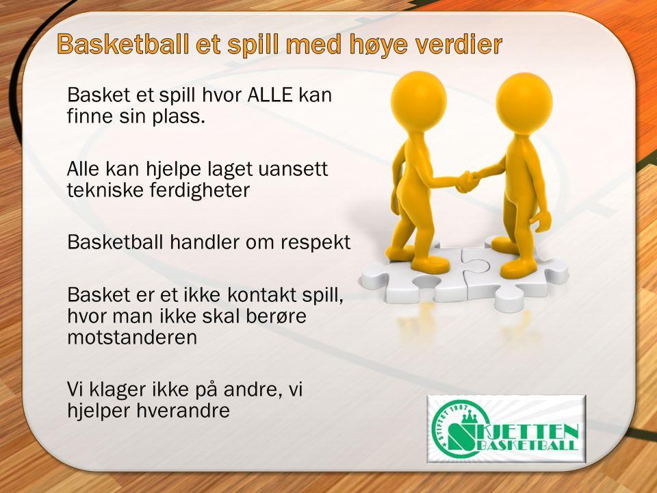 Basketball et spill med høye verdier
