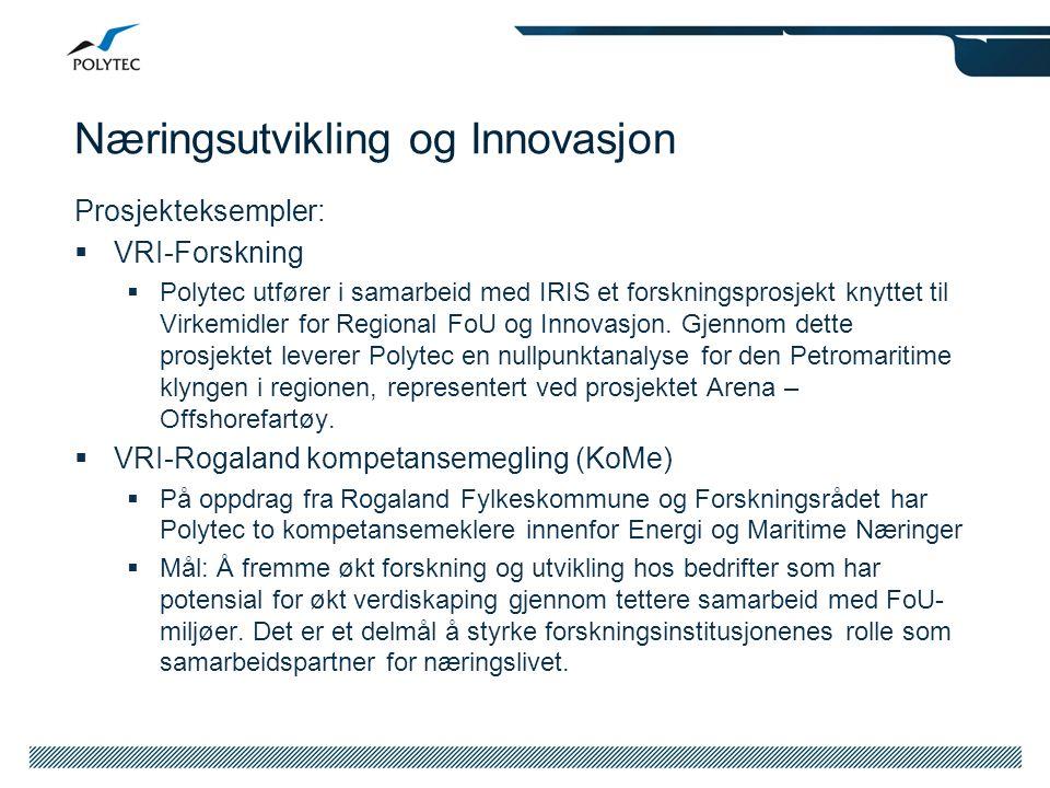 Næringsutvikling og Innovasjon