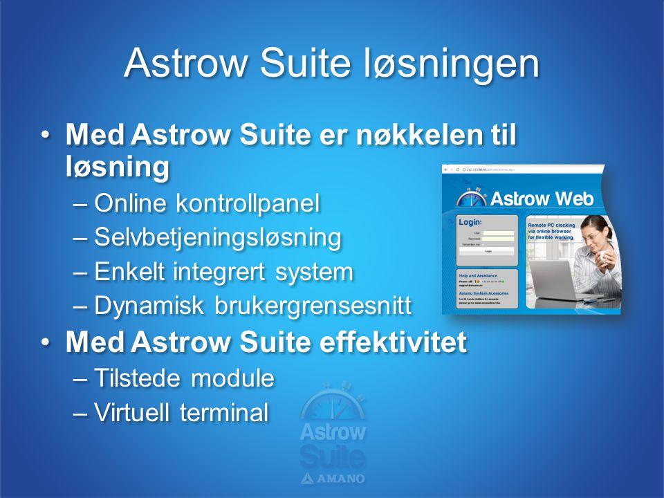Astrow Suite løsningen