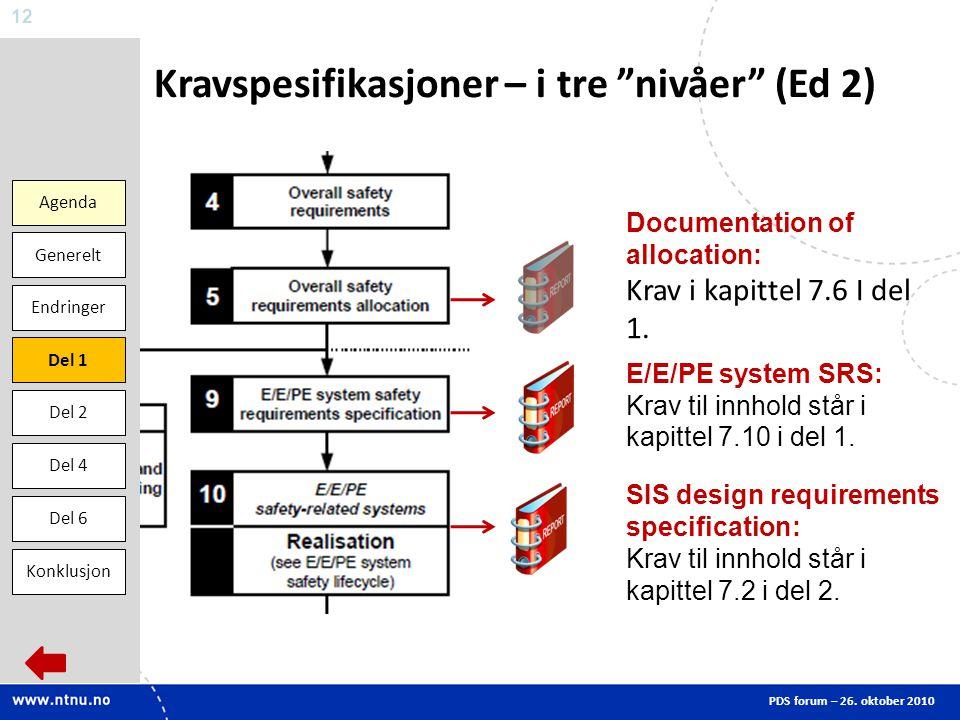Kravspesifikasjoner – i tre nivåer (Ed 2)