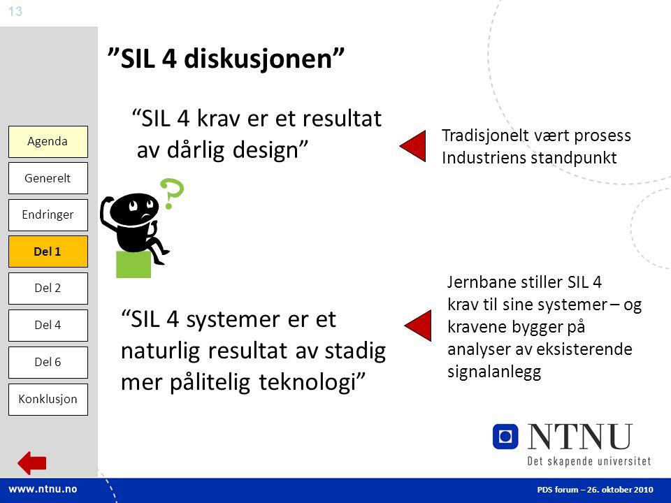 SIL 4 diskusjonen SIL 4 krav er et resultat av dårlig design