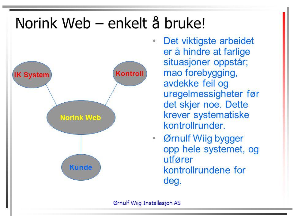 Norink Web – enkelt å bruke!