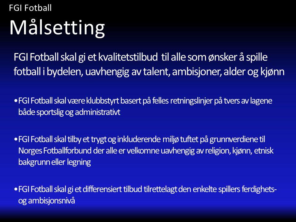 FGI Fotball Målsetting.