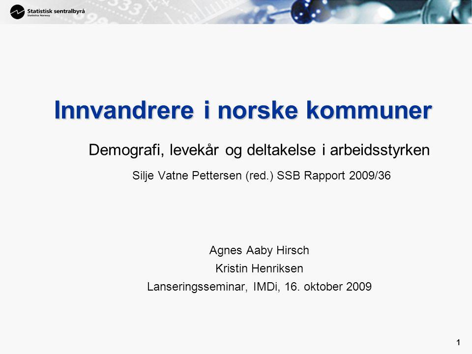 Innvandrere i norske kommuner