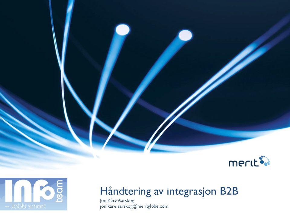Håndtering av integrasjon B2B