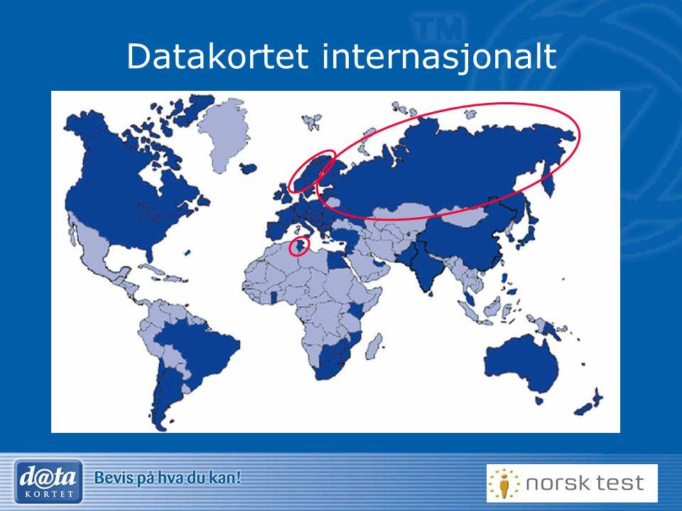 Datakortet internasjonalt