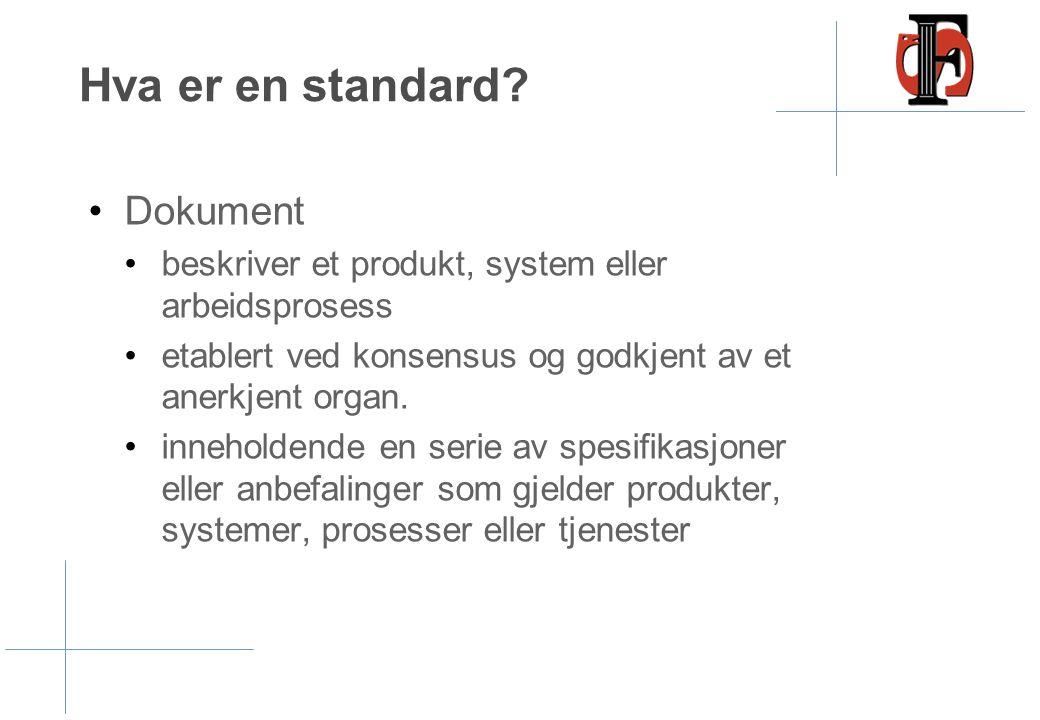 Hva er en standard Dokument