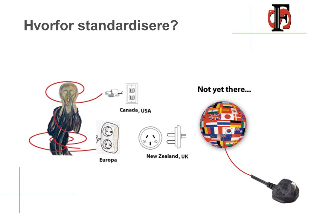 Hvorfor standardisere