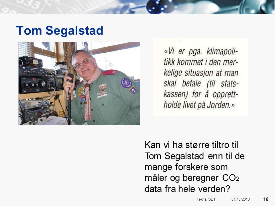 Tom Segalstad Kan vi ha større tiltro til