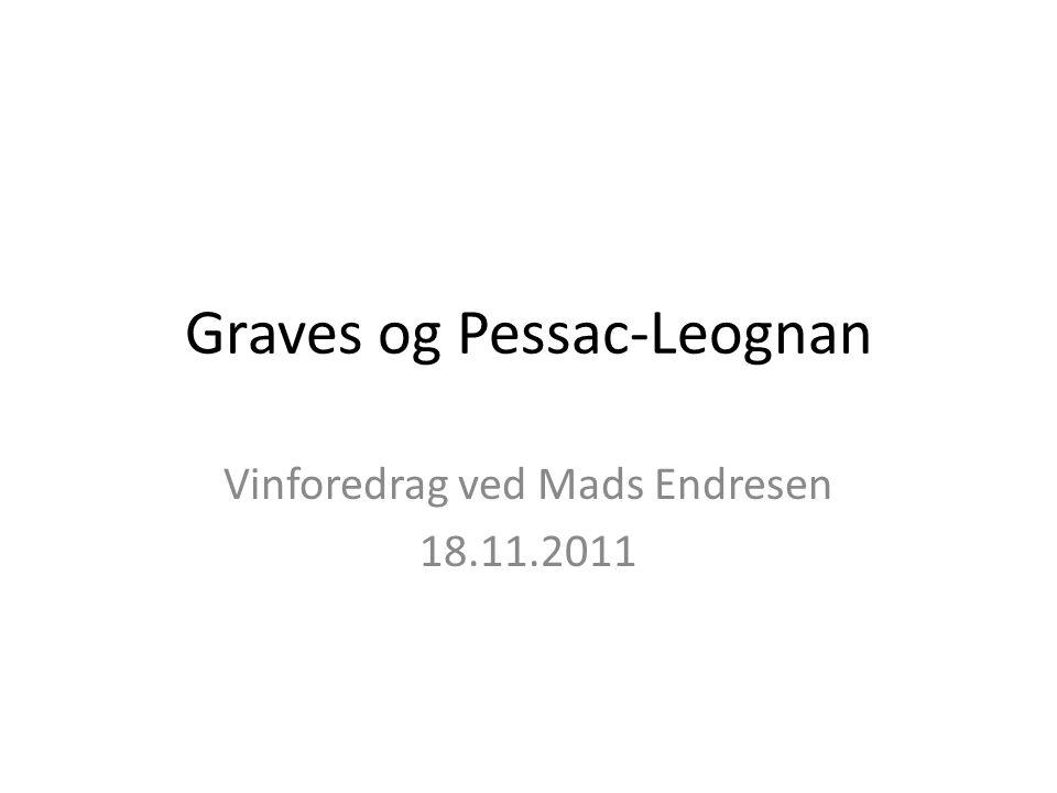 Graves og Pessac-Leognan