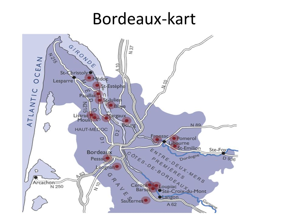 Bordeaux-kart