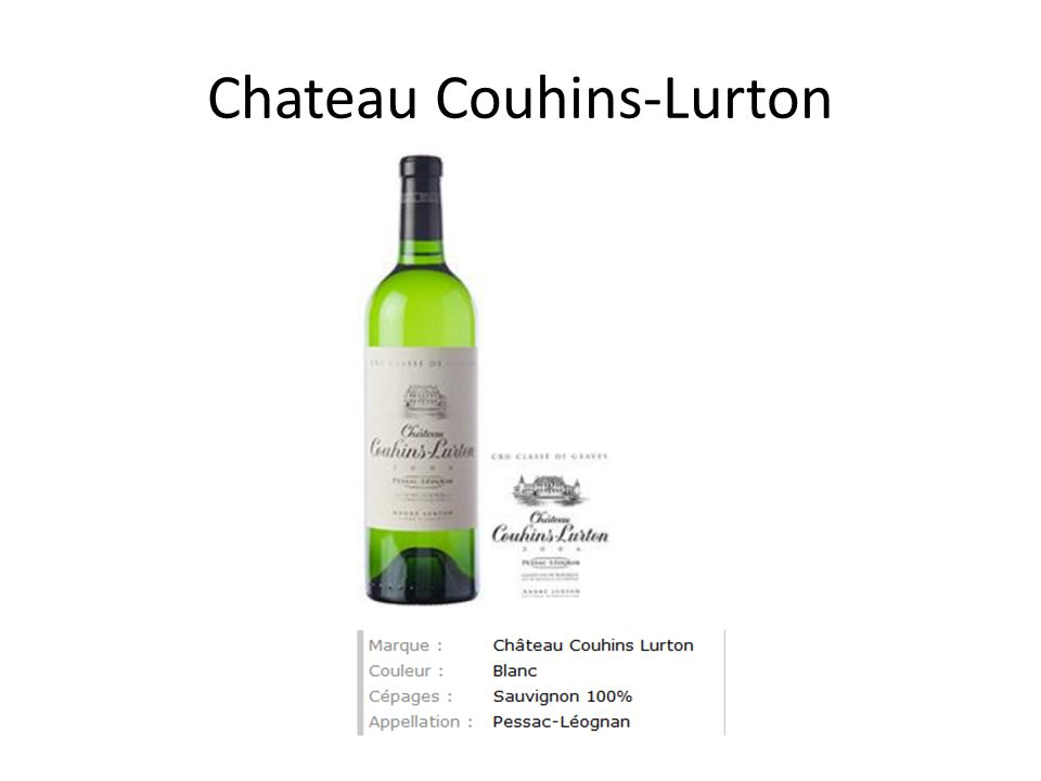 Chateau Couhins-Lurton