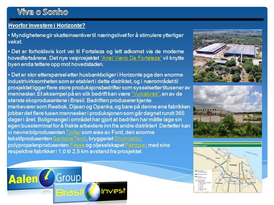 Viva o Sonho Hvorfor investere i Horizonte
