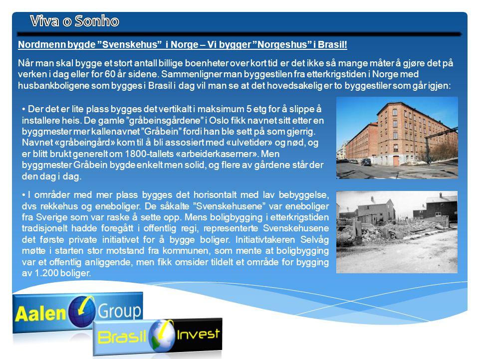 Viva o Sonho Nordmenn bygde Svenskehus i Norge – Vi bygger Norgeshus i Brasil!