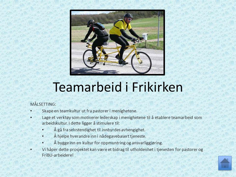 Teamarbeid i Frikirken