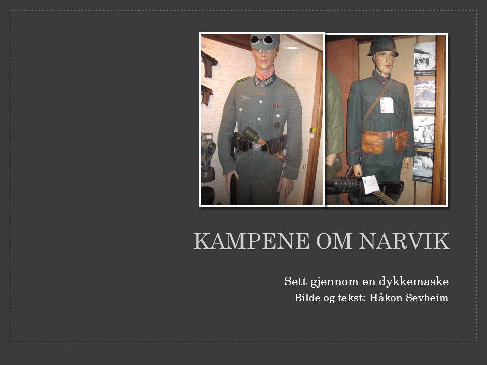 Kampene om Narvik Sett gjennom en dykkemaske
