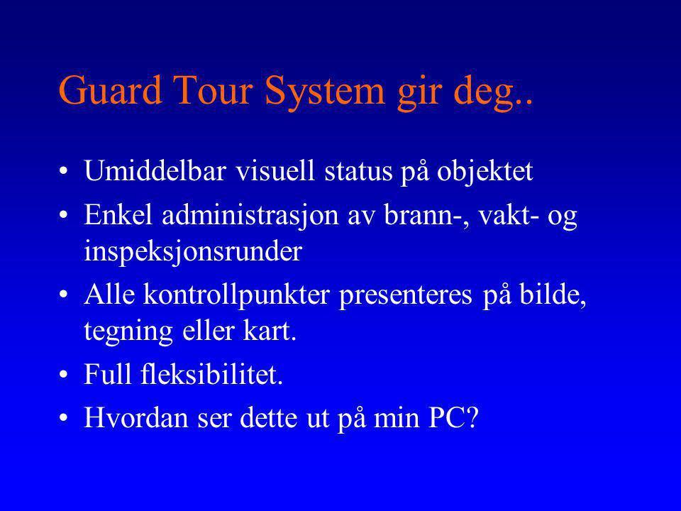 Guard Tour System gir deg..