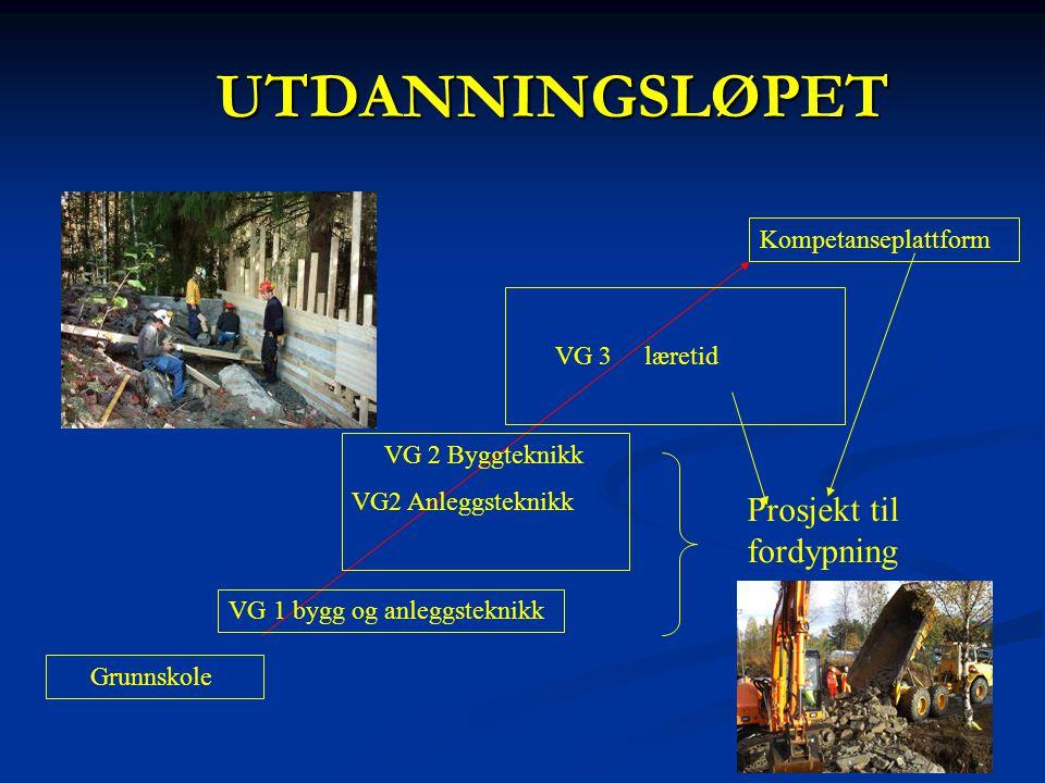 UTDANNINGSLØPET Prosjekt til fordypning Kompetanseplattform