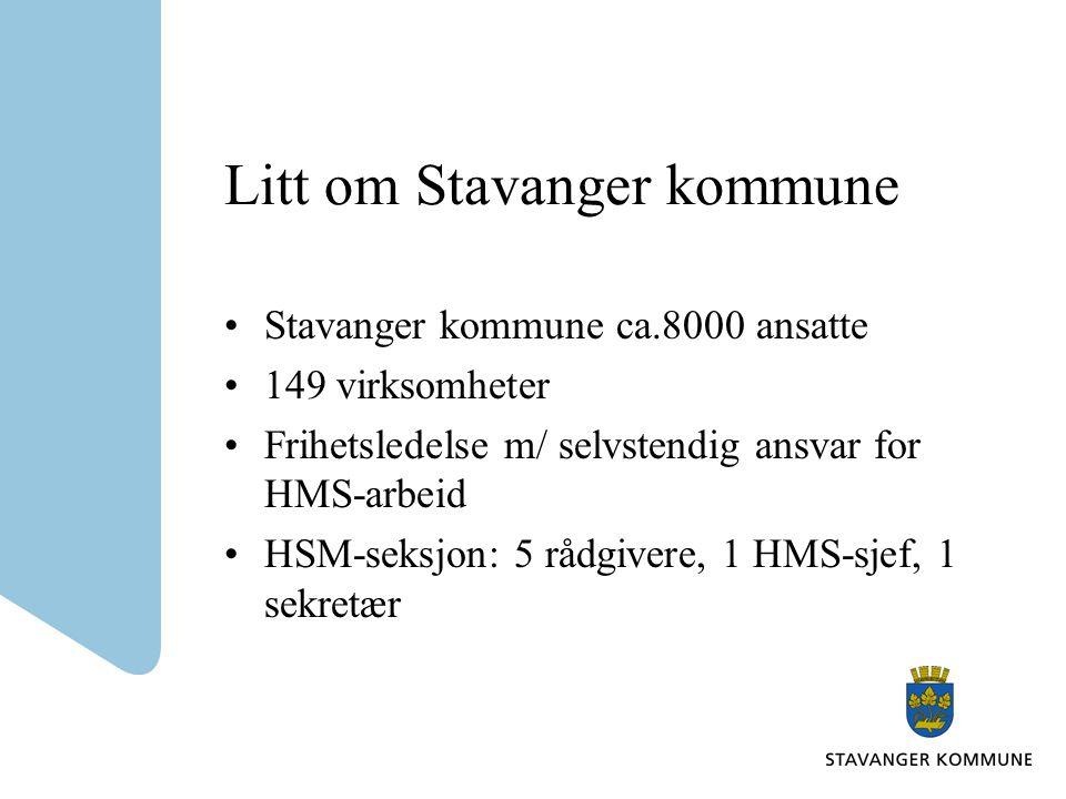 Litt om Stavanger kommune